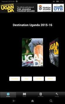 Destination Uganda poster