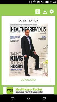Healthcare Radius poster
