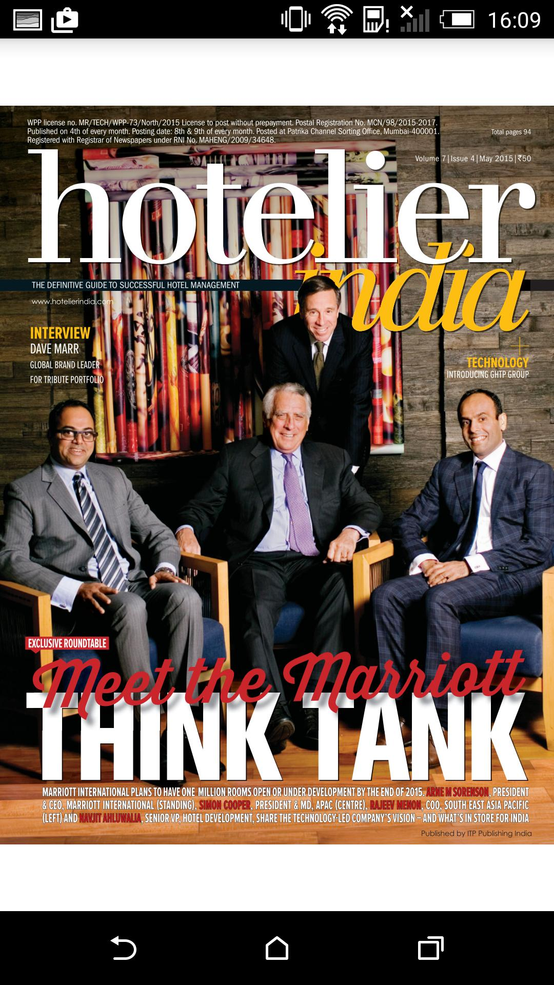 Hotelier India for Android - APK Download
