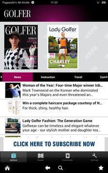 Lady Golfer poster