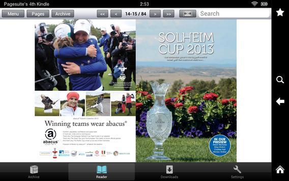 Lady Golfer apk screenshot