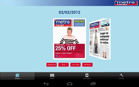 Metro Herald apk screenshot