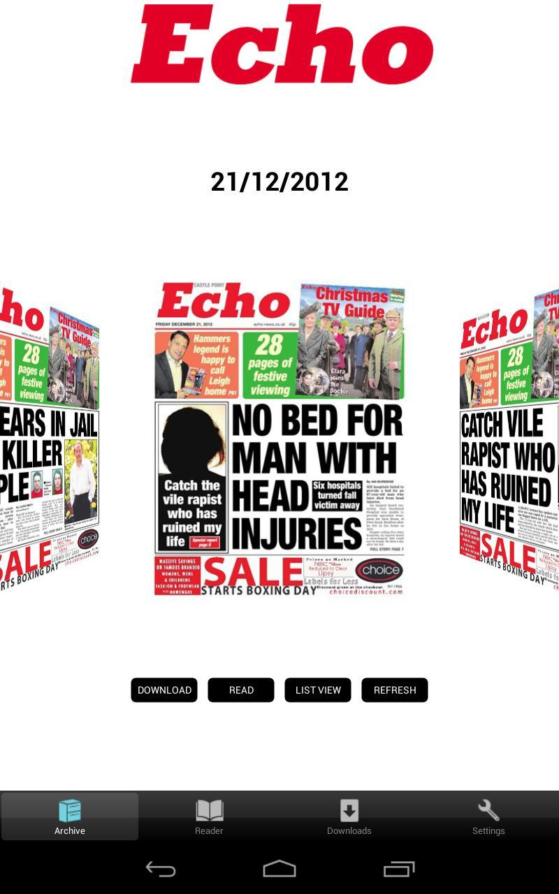Southend & Basildon Echo for Android - APK Download