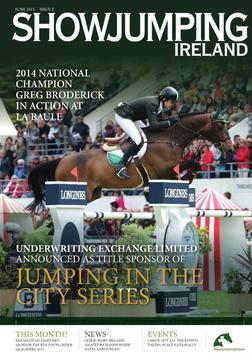 Showjumping Ireland poster