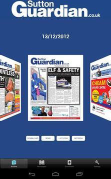 Sutton Guardian poster