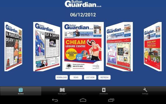 Sutton Guardian apk screenshot