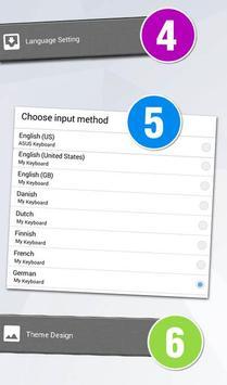 GO Keyboard Swedish SV screenshot 3