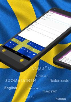 GO Keyboard Swedish SV poster