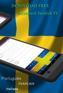 GO Keyboard Swedish SV screenshot 1