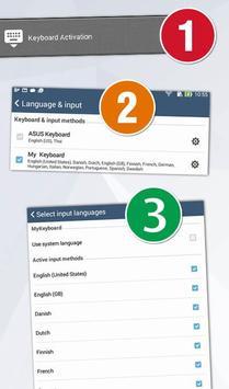 GO Keyboard Swedish SV screenshot 2