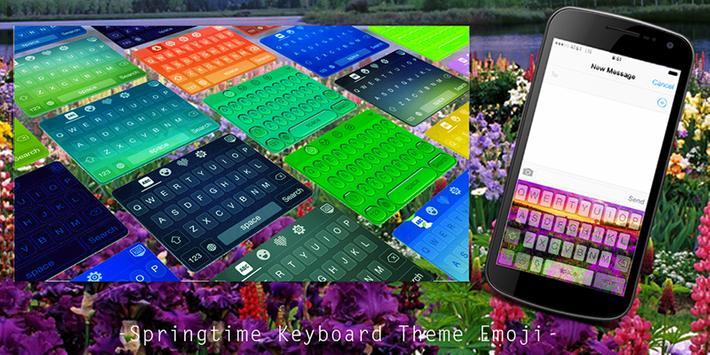 Springtime Keyboard Theme poster