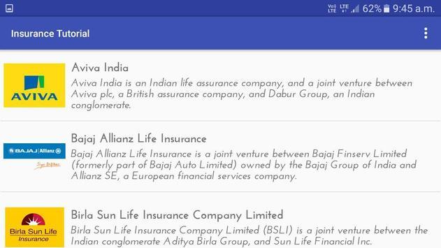 Insurance Tutorial poster