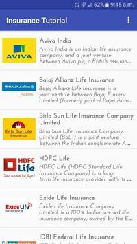 Insurance Tutorial apk screenshot