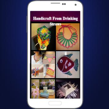 Handicraft From Drinking Straws poster