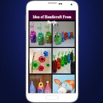 Idea of Handicraft From Bottle poster