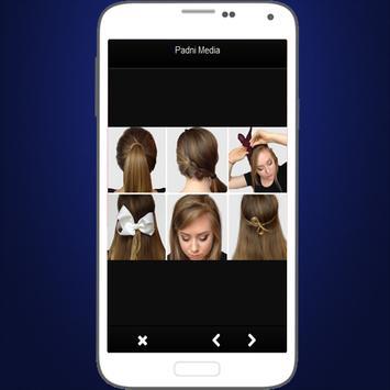 Simple Hairstyle Tutorials apk screenshot