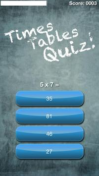 Times Tables Multiplication! screenshot 2