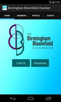 Birmingham Bloomfield Chamber poster