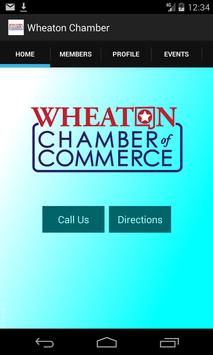 Wheaton Chamber of Commerce poster