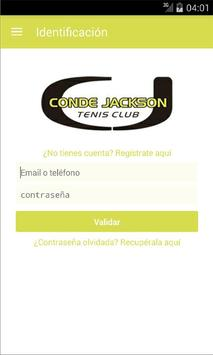 Conde Jackson Tenis Club poster