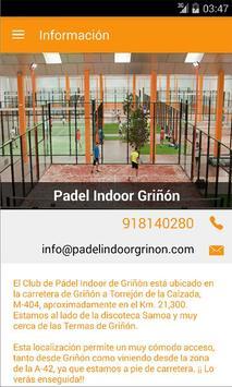 Padel Indoor Griñón screenshot 2