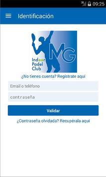 MG Indoor Padel Club الملصق