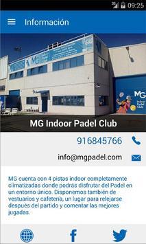 MG Indoor Padel Club تصوير الشاشة 2