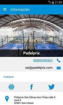Padelprix apk screenshot
