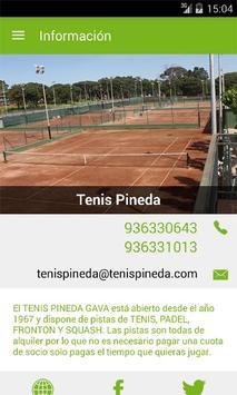 Tenis Pineda screenshot 2