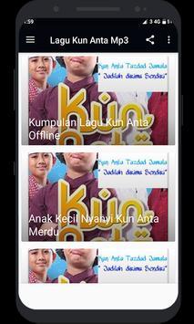 Lagu Kun Anta Mp3 screenshot 2