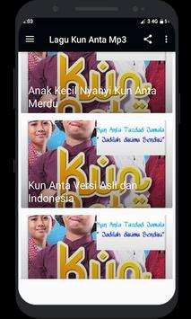 Lagu Kun Anta Mp3 screenshot 3