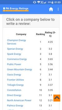 PA Energy Ratings poster