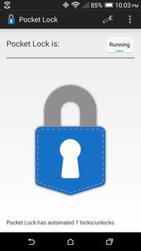 Pocket Lock captura de pantalla 3