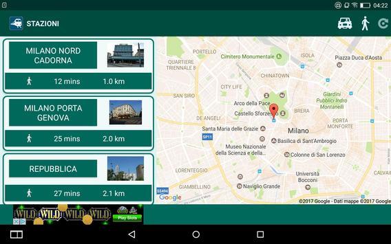 Train stations finder screenshot 8