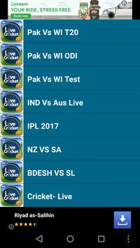 Live Pak Vs WI PTV Cricket TV poster
