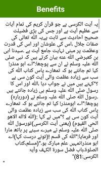 Ayat ul Kursi Free and Offline, 15 Qari Tilawat screenshot 12