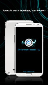 Music volume booster poster