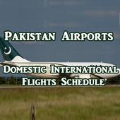 Pakistan Airports Flights icon