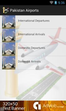 Pakistan Airports Flights apk screenshot