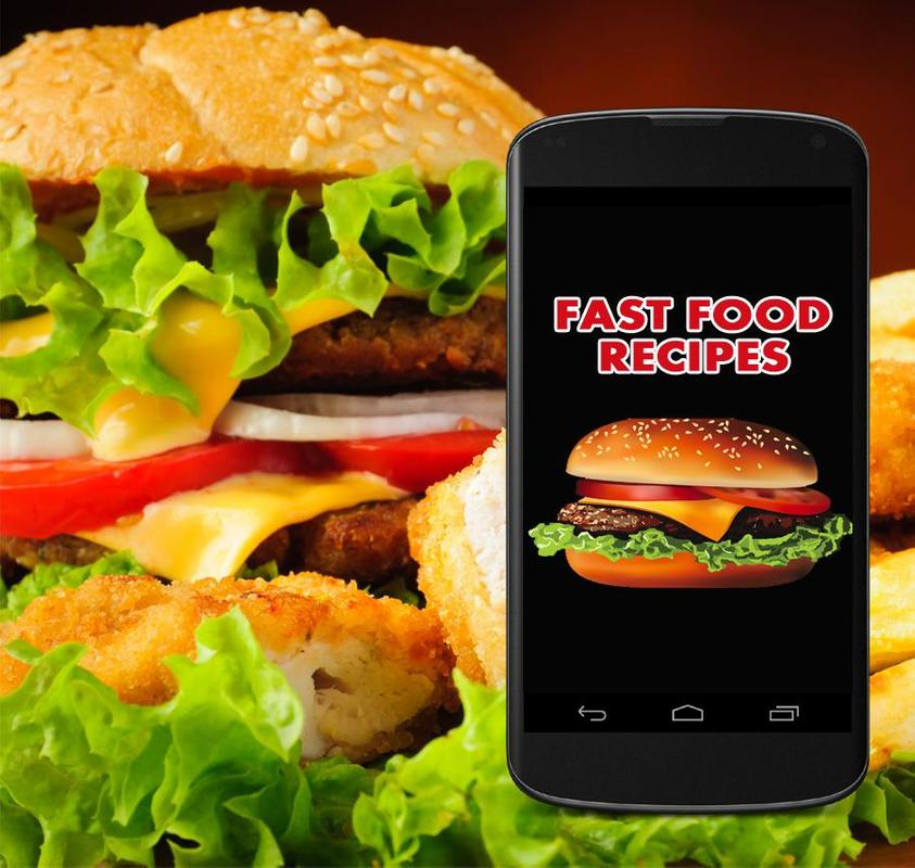 Fast food recipes descarga apk gratis estilo de vida aplicacin fast food recipes poster forumfinder Image collections