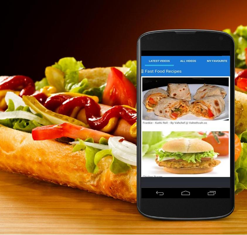 Fast food recipes descarga apk gratis estilo de vida aplicacin fast food recipes poster fast food recipes captura de pantalla de la apk forumfinder Image collections