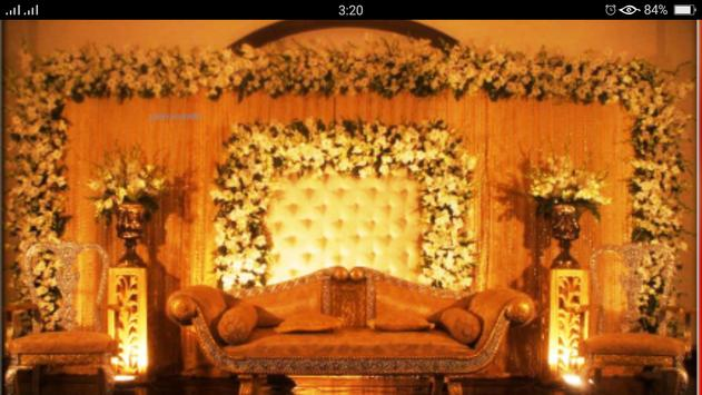 Latest Wedding Stage Decorate poster