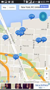 Easy ATM Finder Free apk screenshot