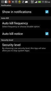 Advanced Task Killer - Free screenshot 4