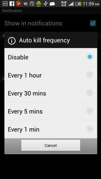Advanced Task Killer - Free screenshot 5