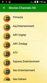 All Pakistan TV Channels Help apk screenshot
