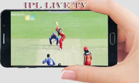 Free live cricket TV poster