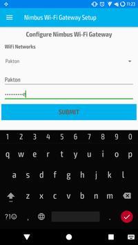 Nimbus Wi-Fi Gateway Setup apk screenshot
