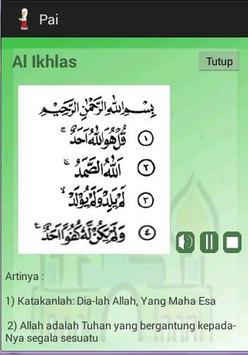 Pend. Agama Islam SD Kelas 1 apk screenshot
