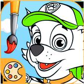 Patrulla Canina para Colorear icon